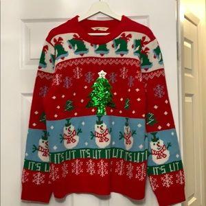 BNWT LADIES XL UGLY CHRISTMAS SWEATER